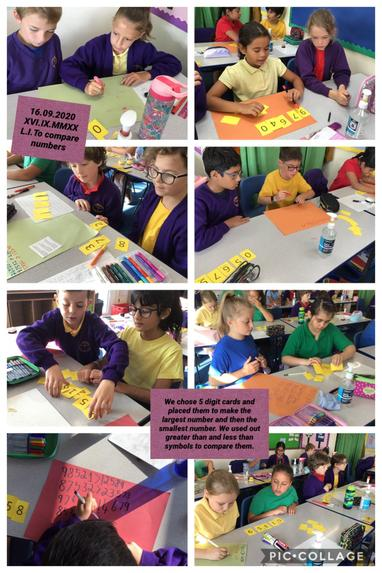 SM7 comparing numbers in maths