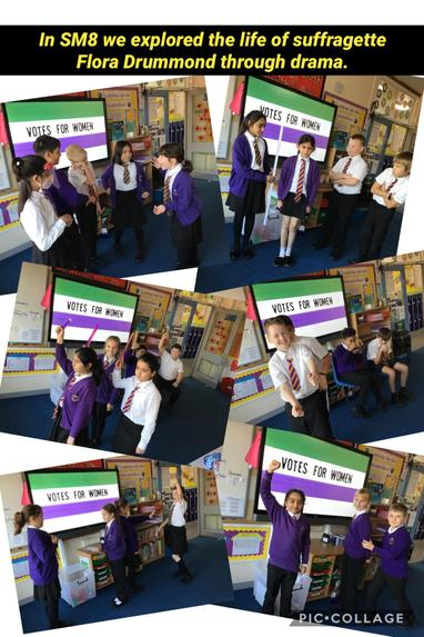 SM8 Exploring the life of a suffragette