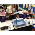 Science investigation in SM7 - water resistance
