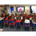 29.09.21 Nina Leigh visits primary 4 to tell them all about her Jewish faith.