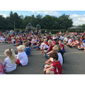 The whole school took part.