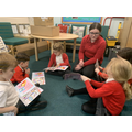 Guided Reading with year 6
