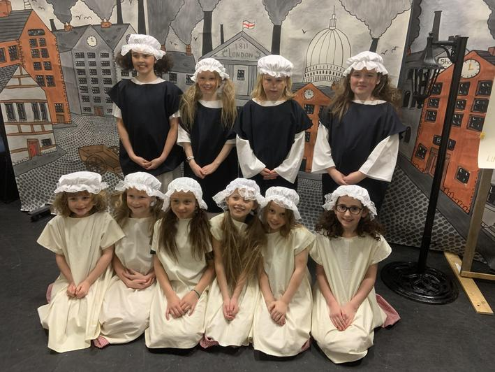 The orphans in Oliver Twist