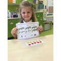 Using the tens frame helps us to consolidate our understanding of numbers to 10.
