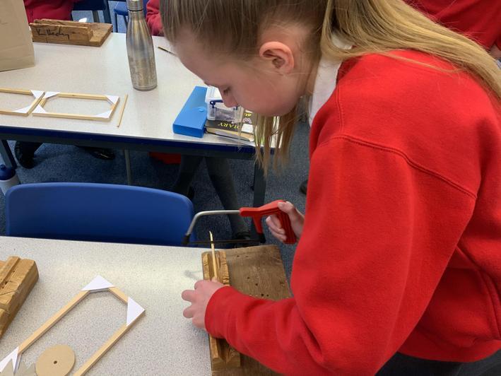 Preparing the lengths of wood