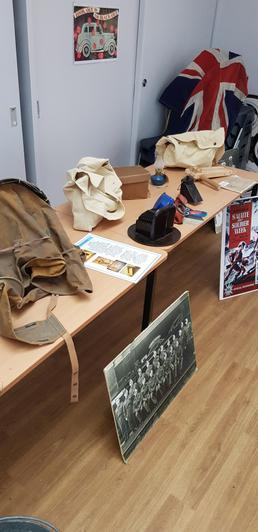 Typical WW2 items.