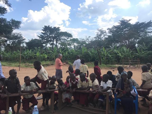 An outdoor class!