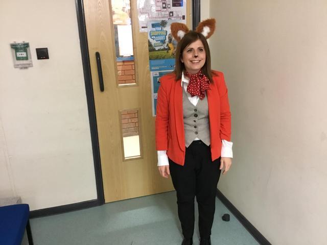 Fantastic Mr Fox looks dapper!