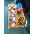 Cakes for our visitors