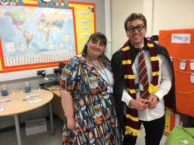 Harry Potter is now a teacher in The Bridge?!