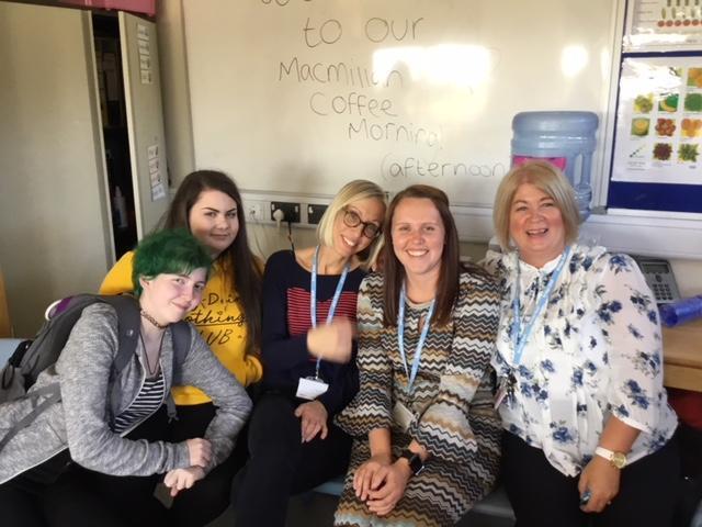 Ms Bowen, Ms Lang, Mrs Thomas, Ella and Eve!