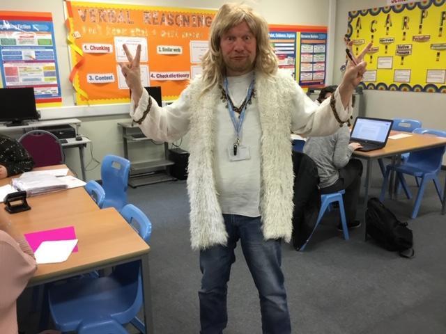 Mr Kingscott is a famous dead poet....who?!