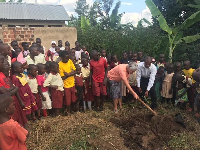 Planting mango trees :)