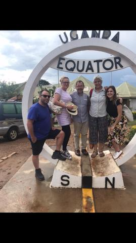 Day off visit to the Equator 0 degrees!