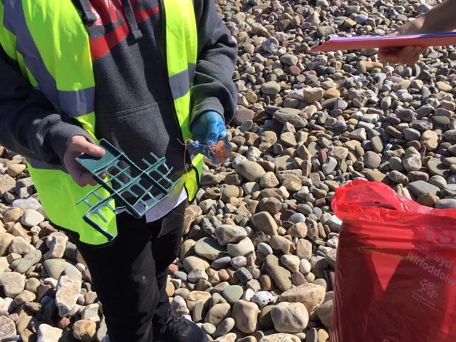 More plastic waste!