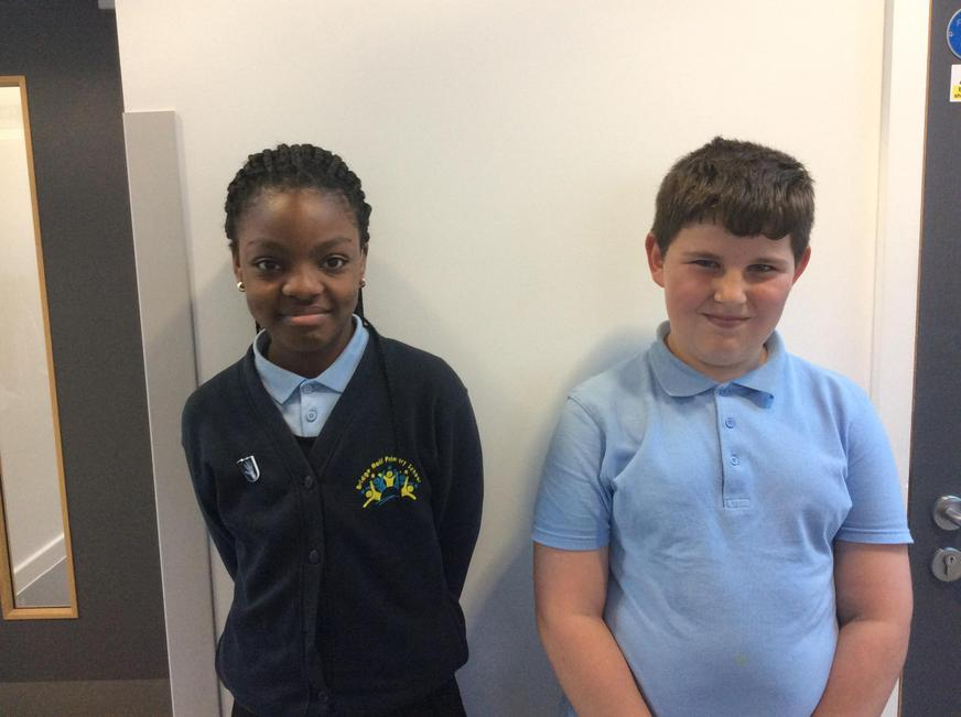 Year 5 - Rochelle and Daylan