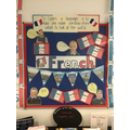 Our School French Display.