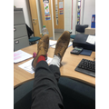 Odd socks day - Mr Bigwood