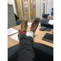 Odd socks day - Mr Bigwood