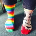 Odd socks day - Mr Woodman