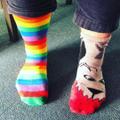 Odd socks day - Mr Woodman