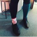 Odd socks day - Mrs Lee