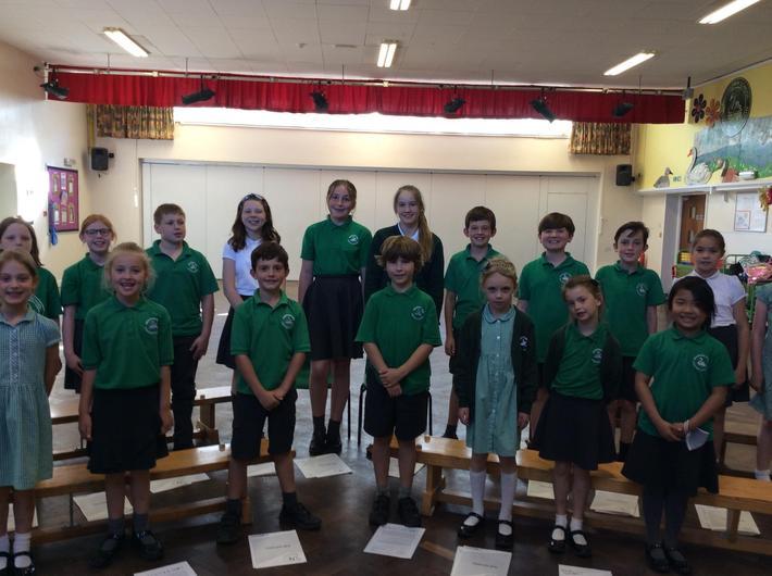 KS2 choir 2021-22
