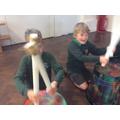 Jacob and Arthur are having fun!