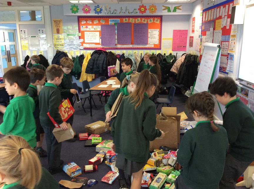Choosing the materials!