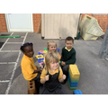 """""""We made a boat!"""""""