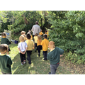 We went on a bear hunt with Mrs Nash.