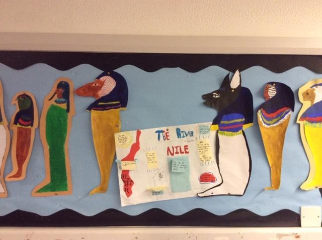 Canonic Jars and River Nile Posters.