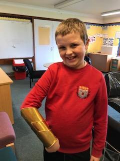 Logan made this stunning piece of armour!