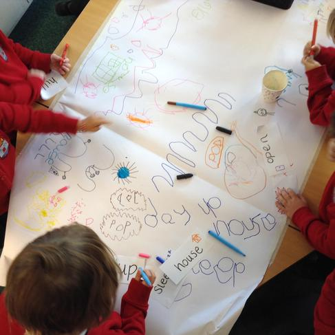 Writing some words for our story map