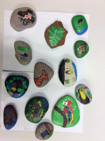 Fairtrade pebble designs