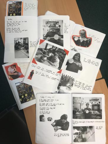 Scrap-booking our learning