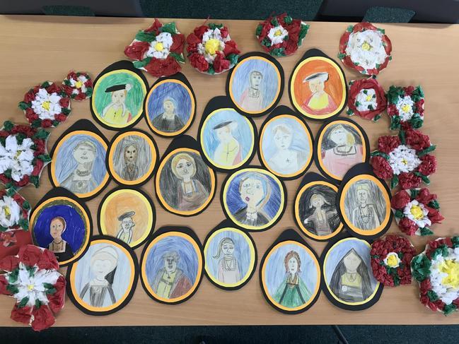 Tudor Miniature Portraits and Tudor Roses