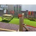 Part of our BRAND NEW Key Stage 2 playground