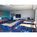 One of our Key Stage 2 classrooms in Y6