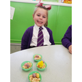We had to share out the Mini eggs equally!