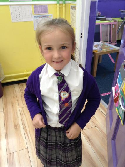Well done! You're a great role model to have in our class.