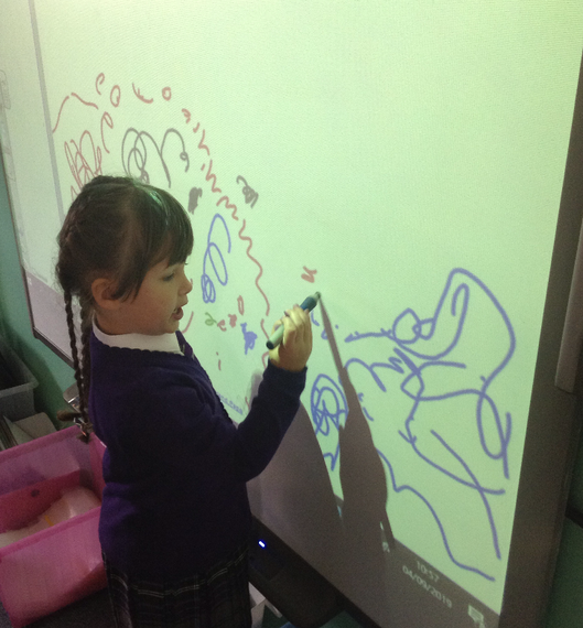 Using the interactive board!