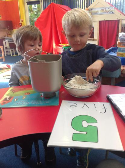 Linking numbers to cooking