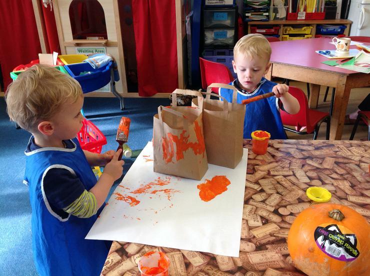 Pumpkin creative bags