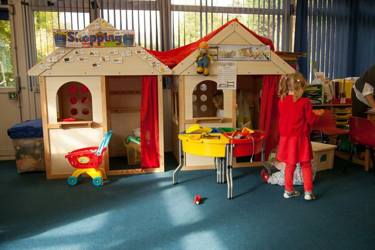 Our 2 Role Play Houses Bob the Builder and Shops