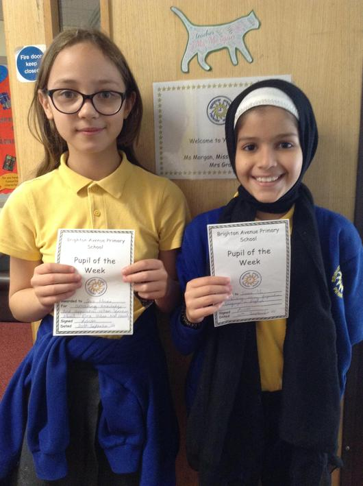 A pair of superstars in maths and writing!