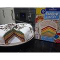 George's Rainbow Cake