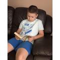 Raymond reading