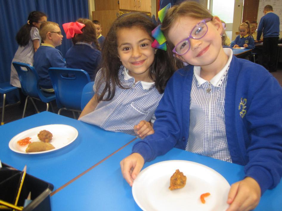 We tasted traditional Eid food