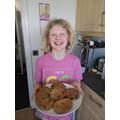 Charlotte's baking